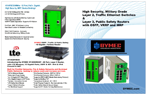 Traffic Ethernet & FirstNet MPLS LTE Router