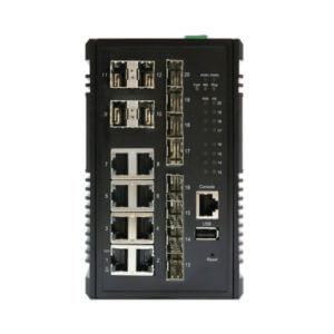 12 port industrial ethernet switch KY CSG0812