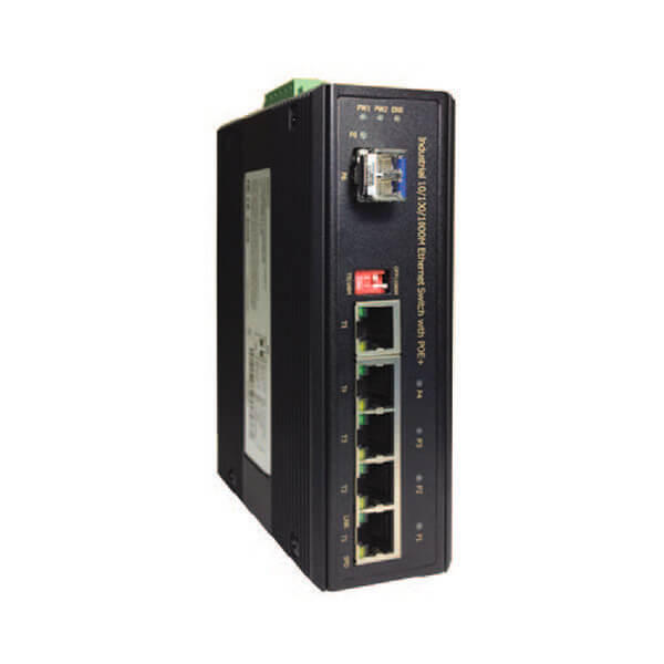DY G8042TF 12 poe injector switch media converter
