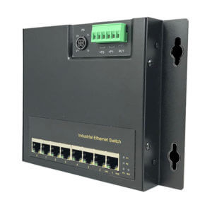DY H8080X 8 port industrial power over ethernet switch