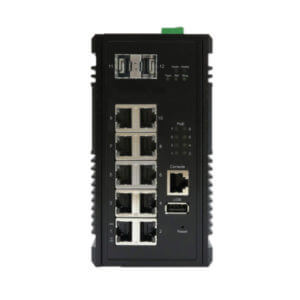 KY CPG1002 12 port layer 3 PoE switch
