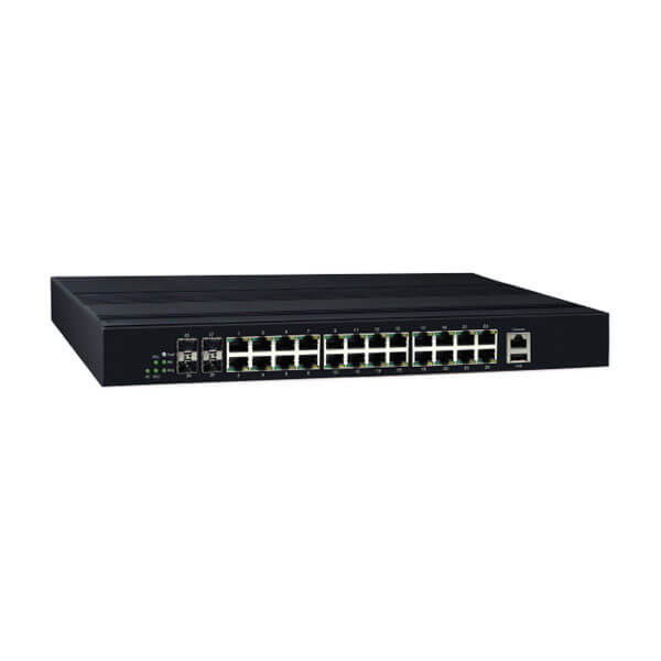 KY CPG2404 28 port managed full gigabit ethernet switch