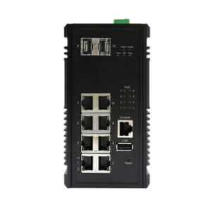 KY CPX0802 10GbE PoE Ethernet Switch