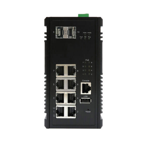 KY CTG0802 10 port power over ethernet switch