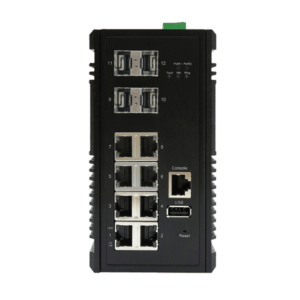 KY MSG0804 12 port managed layer2 industrial ethernet switch
