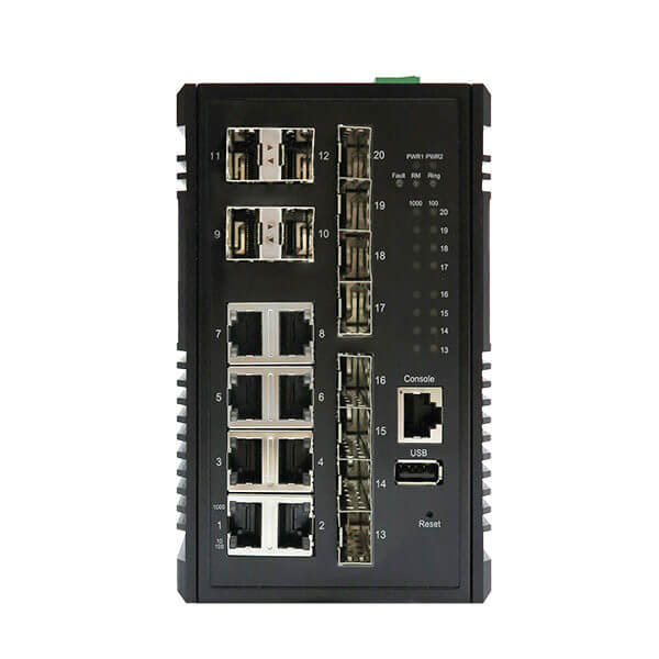 KY MSX0812 20 port managed layer 2 ethernet product
