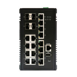 KY MSX1604 20 port managed layer2 ethernet product