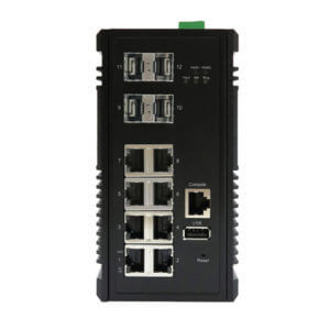 KY MTG0804 12 port layer 2 POE industrial ethernet