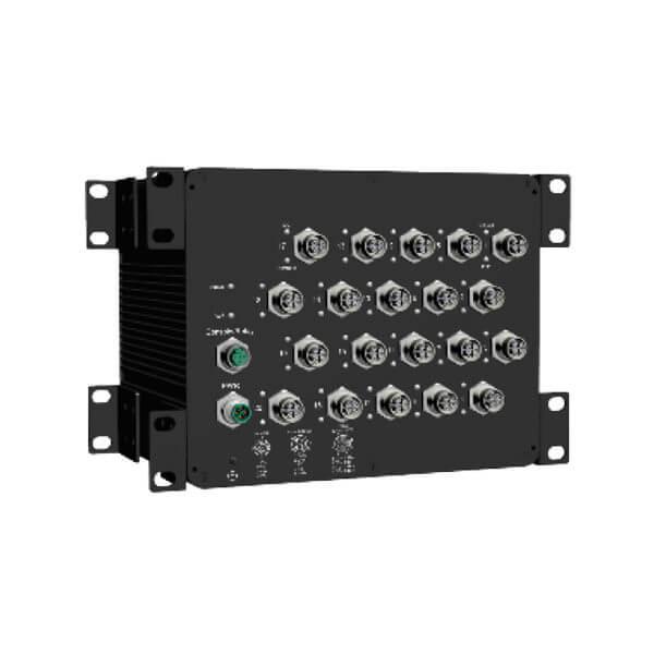 MT 1604X M12 20 port managed ethernet switch