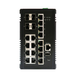 managed power over ethernet layer 3 switch KY CPX1604