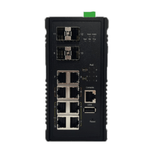 KY MH0804G2 layer 2 industrial ethernet switch