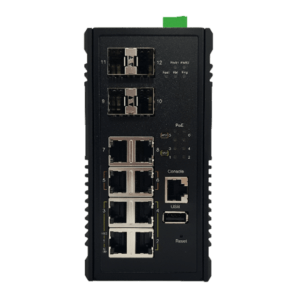 KY MH0804X2 Din Rail Layer 2 Switch