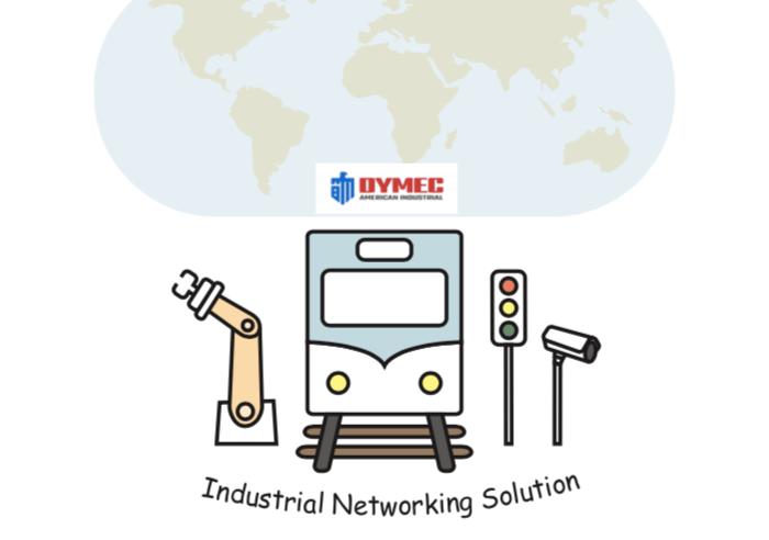 dymec railway and automation flyer